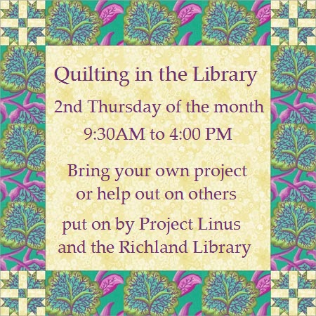 Quilting in the Library
